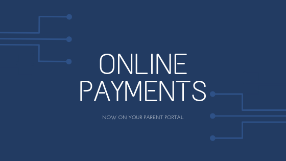 Parent Portal Update – Online Payments