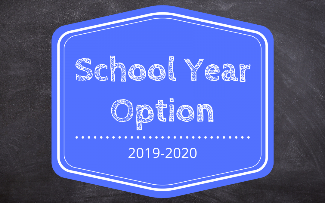 School Year Option Registration 2019-2020