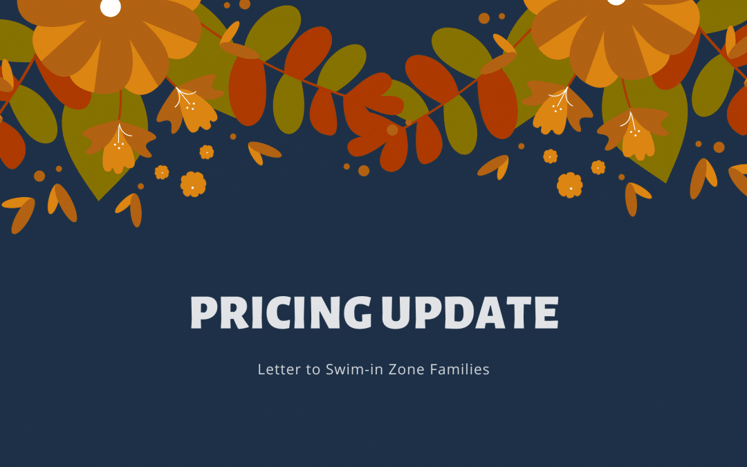 Pricing Update for Next Session