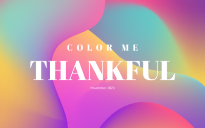 Color Me Thankful